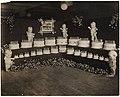 Bon Marché 24th anniversary cake display, 1914 (MOHAI 4413).jpg