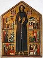 Bonaventura Berlinghieri, San Francesco e storie della sua vita, 1235, 01.jpg