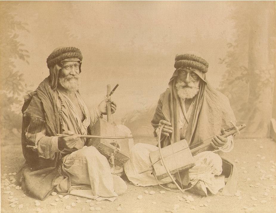 Bonfils, Félix (1831-1885) - 613 - Joueurs de violon bedouins
