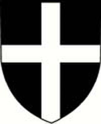 Saint Piran's Flag - Image: Borgnearms