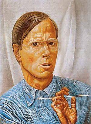 Boris Grigoriev - Self-portrait