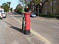 Boscombe, postbox No. BH5 91, Westby Road - geograph.org.uk - 972190.jpg