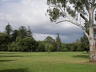 Botanic Park, Adelaide - View of Botanic Park