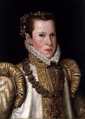 Infanta Maria of Guimarães - Antonis Mor, 1550.
