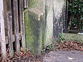 Boundary Stone on Chester City Walls - geograph.org.uk - 670602.jpg