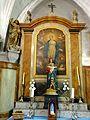 Boury-en-Vexin (60), église Saint-Germain, collatéral sud, autel et retable de la Vierge 2.jpg