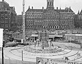 Bouw Nationaal Monument Dam Amsterdam, Bestanddeelnr 907-3342.jpg