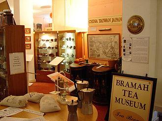 Bramah Tea and Coffee Museum - Interior of the museum (October 2007).