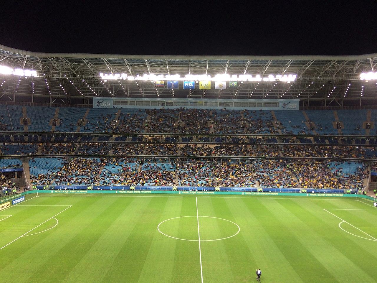 Estadio Arena do Grêmio, Porto Alegre, Brasil