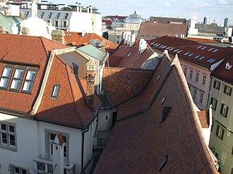 Old Town Hall (Bratislava) - Image: Bratislava Old Town Hall View SE