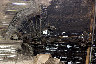 Bagger 293 - Bagger 293 in the Hambach brown coal mine, 2008