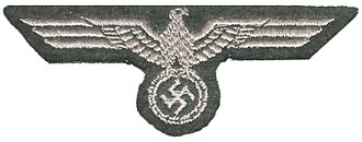 Ranks and insignia of the German Army (1935–1945) - Machine-embroidered Panzer Hoheitszeichen