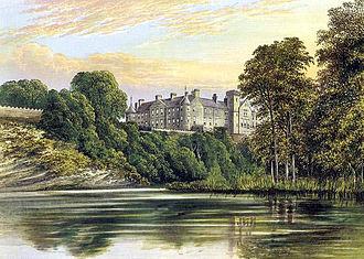 Clan Ramsay - Brechin Castle circa 1880.