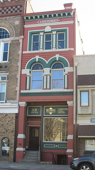 National Register of Historic Places listings in Daviess County, Kentucky - Image: Breidenbach Building