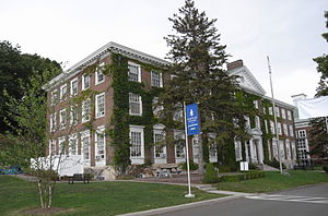 National Register of Historic Places listings in Otsego County, New York - Image: Bresee Hall, Hartwick College, Oneonta NY