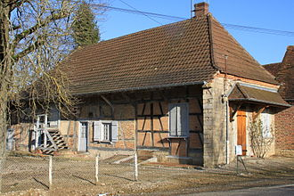 Bresse - Typical Bresse farm house