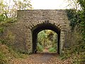 Bridge over Cycle Trail (Former Scarborough to Whitby Railway) - geograph.org.uk - 1547103.jpg