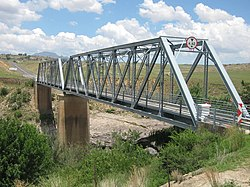 Bridge over the Orange River near Sterkspruit