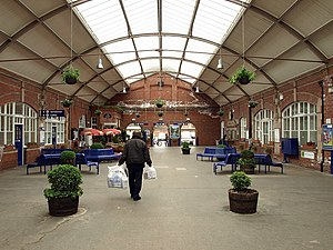Bridlington railway station - Bridlington railway station concourse