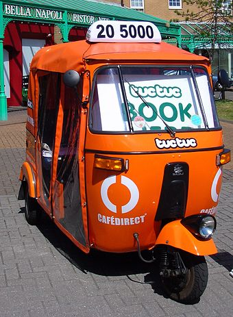Tuctucs booking Auto rickshaw located in Brighton Marina. - Auto rickshaw