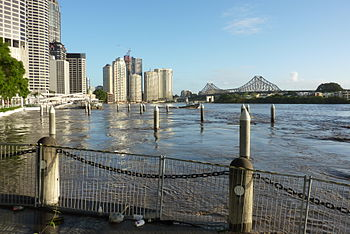 Brisbane City Floods