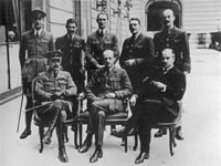 British Air Section at the 1919 Paris Peace Conference