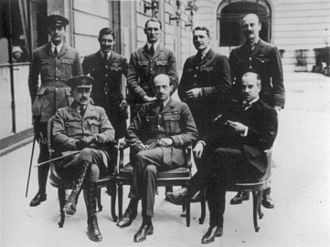 Paris Peace Conference, 1919 - The British Air Section at the Conference