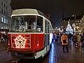 Brněnské Vánoce, náměstí Svobody, vánoční tramvaj (2018-11-23 17.29.59).jpg