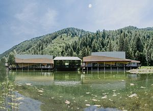 "Aspen Music Festival and School - The ""Pond Cluster"" at the Matthew and Carolyn Bucksbaum Campus"