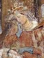 Buffalmacco, trionfo della morte, incontro dei tre vivi coi tre morti 30 gentildonna.jpg