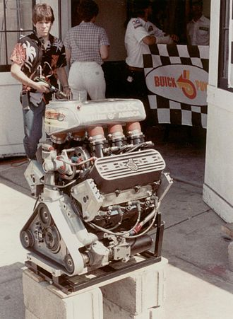 1985 Indianapolis 500 - The Buick V-6 Indy car engine