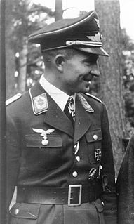 Hans Kroh 1907-1967, German Fallschirmjäger and general in the Bundeswehr