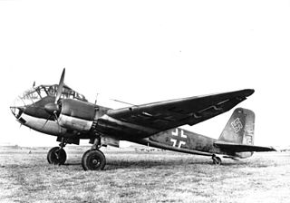 Junkers Ju 188 1940 bomber aircraft family by Junkers