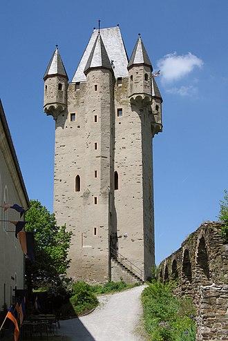 Nassau Castle - Nassau Castle's bergfried