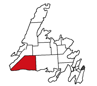Burgeo-La Poile provincial electoral district for (Assembly of Newfoundland and Labrador)