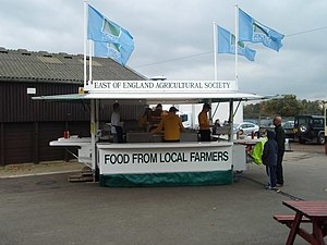 English: Burger Trailer The East of England Sh...