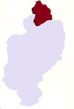 Township highlighted in Kachin State