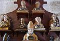 Busts reliquiaris de sants i santes, monestir de la Trinitat, València.JPG