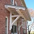Butte SS Peter-Paul school E side porch roof.JPG
