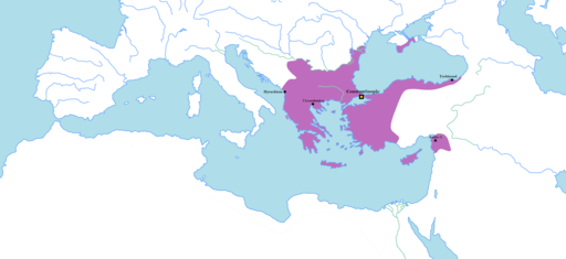 Byzantine Empire 1170 AD