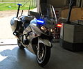 CF 250 Yamaha FJR 1300 Police bike - Flickr - Highway Patrol Images.jpg