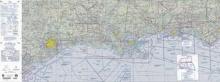 World aeronautical chart aeronautical chart used for navigation by pilots