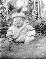COLLECTIE TROPENMUSEUM Stenen tempelwachter bij de Candi Singosari TMnr 10016411.jpg
