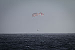 CRS-5 Dragon under parachute (16641912477).jpg