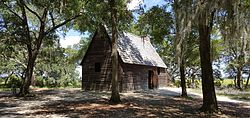 Cabin at Charles Towne Landing, South Carolina, August 2016.jpg