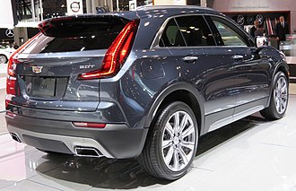 Cadillac XT4 - Cadillac XT4 rear