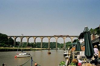 Grade II* listed buildings in West Devon - Image: Calstock Viaduct