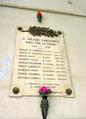 Camasco memorial tablet.png