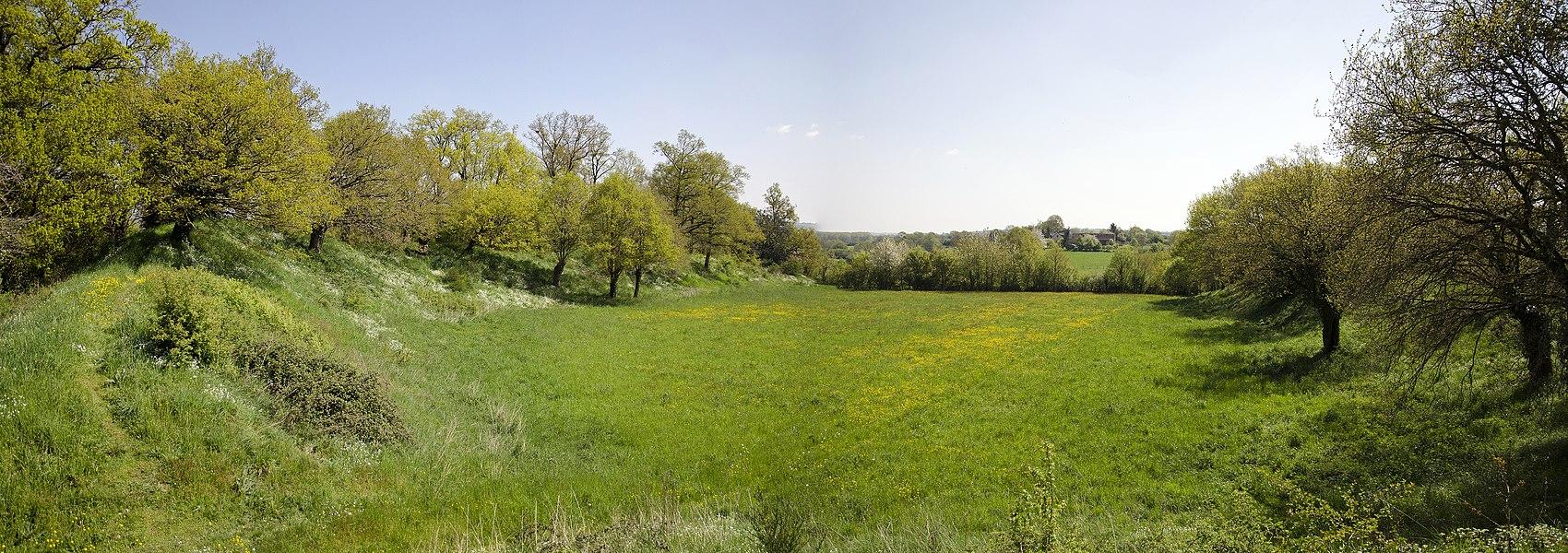 Camp de Beugy, Sainte-Suzanne, Mayenne, 2013.