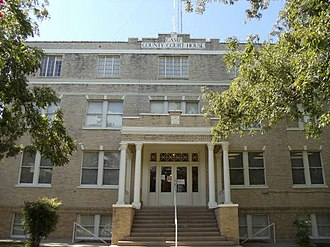 Camp County, Texas - Image: Camp County Courthouse